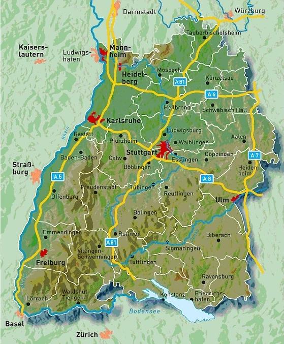 Nordschwarzwald Karte.Karte Schwarzwald Freudenstadt Hanzeontwerpfabriek
